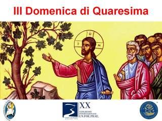 III domenica di Quaresima