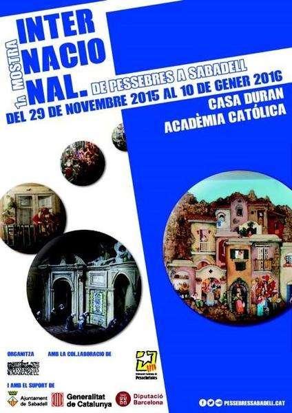 La locandina della Mostra di Sabadell