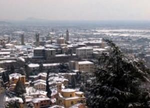 Bergamo – Città Alta – Panorama.