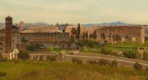 Il Colosseo nel 1850