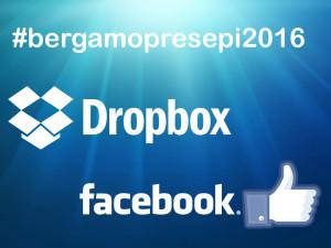 Facebook Dropbox per Bergamo2016