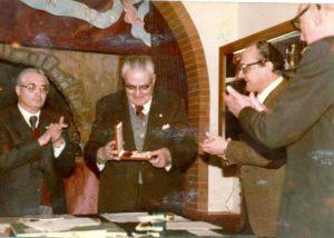 Stefanucci riceve la Commenda dell'Ordine di San Silvestro