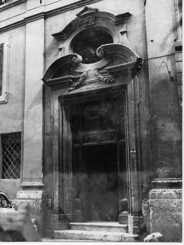 Il portone di ingresso del Museo