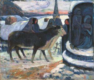 Paul Gauguin - La notte di Natale