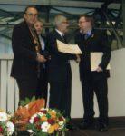 Formosa riceve il Premio UnFoePrae dal Presidente Dendorfer - Innsbruck 2012