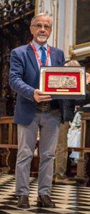 Guido Raccagni - Premiazione a Venite Adoremus 2016