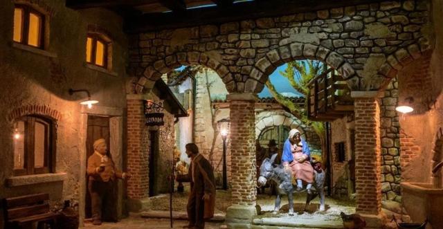 Giuseppe Frassine: Ricerca dell'alloggio