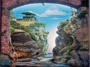 """""""Annuncio ai pescatori nella Valle dei Mulini di Sorrento"""" realizzato da Domenico Pagano"""