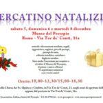 Mercatino natalizio al Museo del Presepio di Roma