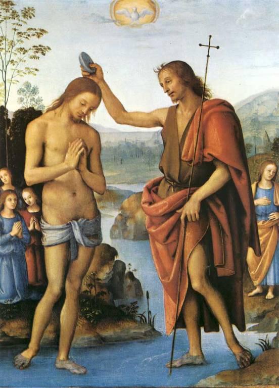 Battesimo del Signore del Perugino