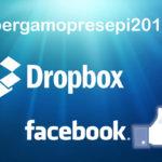 FB e Dropbox per #bergamopresepi2016