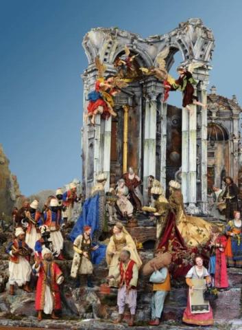 Il presepe monumentale della Sede di Napoli per il suo trentennale