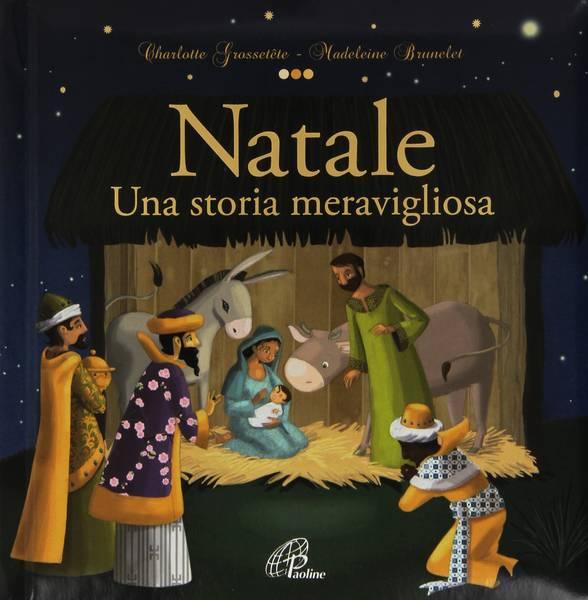 Natale storia meravigliosa - Copertina