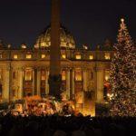 Inaugurato il presepe di Piazza San Pietro
