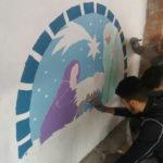 Il passo-passo del presepio murario