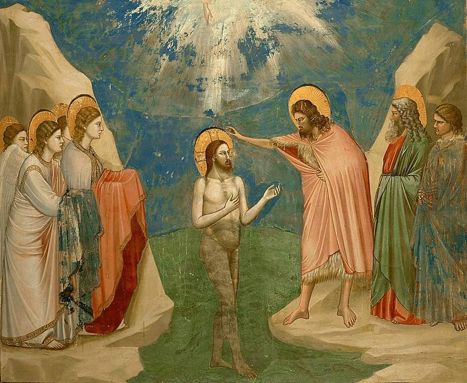 Battesimo del Signore - Giotto