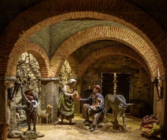 Giuseppe Pigazzini: Natività popolare