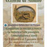 Certosa di Milano – Esposizione di presepi a Parete.