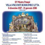 Lainate città di presepi – X mostra presepi in Villa Visconti Borromeo Litta