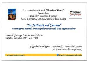 Arezzo - natività cinema Invito