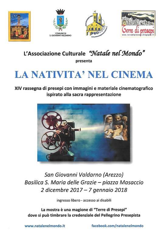 Arezzo - natività cinema locandina