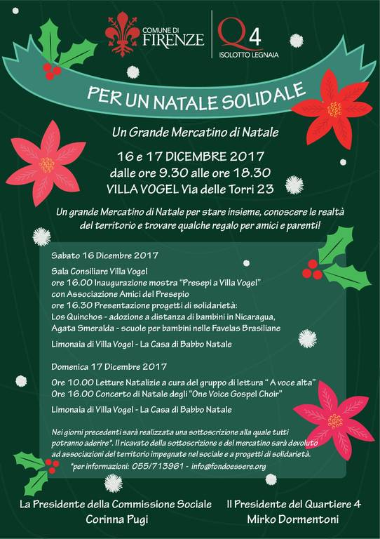 natale solidale firenze