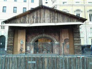 piazza navona - presepio aiap roma