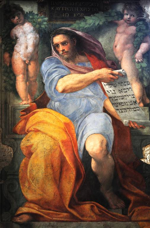 profeta isaia raffaello sanzio
