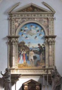 Battesimo di Cristo - Cima da Conegliano - san giovanni in bragora