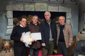 ALtamura - preaidente di Sede il socio Gennaro Potenziere Pace - l'In. Vito Barone e d infine il Tesoriere Nicola Mariniello