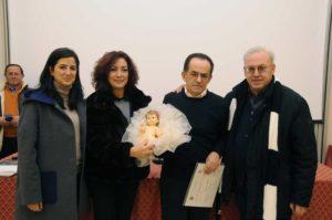 Altamura - in questa immagine on. Liliana Ventricelli - Nicla Losacco nuova segretaria Sede Giuseppe Colonna Presidente e infine l'Ass. Ecc. Mons. Vito COLONNA