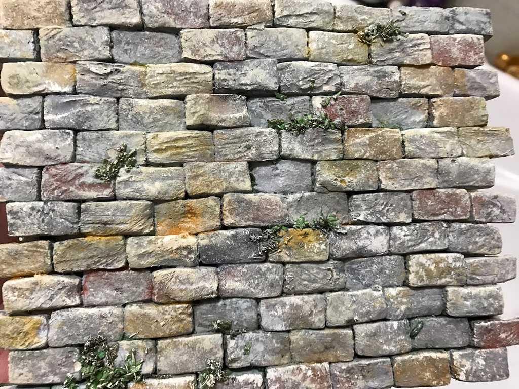 Come Costruire Un Muro Di Pietra.Tutorial Dipingere Un Muro Creando Un Effetto Pietra