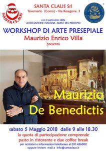 workshop Maurizio De Benedictis - tavernerio