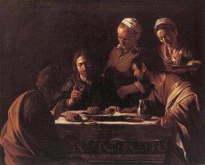 Caravaggio - la cena in Emmaus - sede cinisello