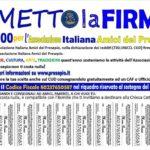 Quest'anno dona il 5×1000 all'Associazione Italiana Amici del Presepio