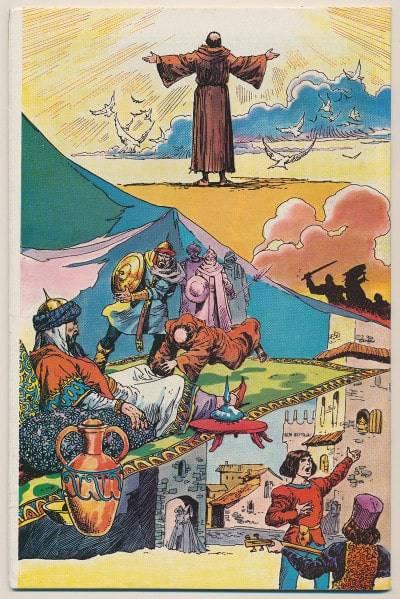 San Francesco a fumetti