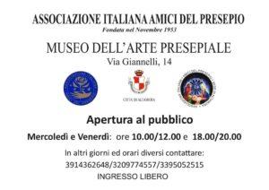 Altamura targa museo presepio a.colonna