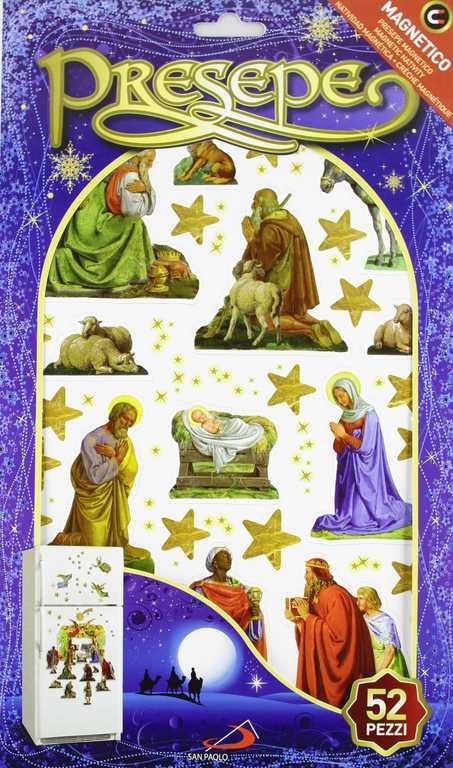 presepe magnetico fronte