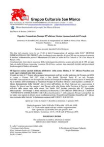 25^ Mostra Internazionale dei Presepi di san Marco di Resana