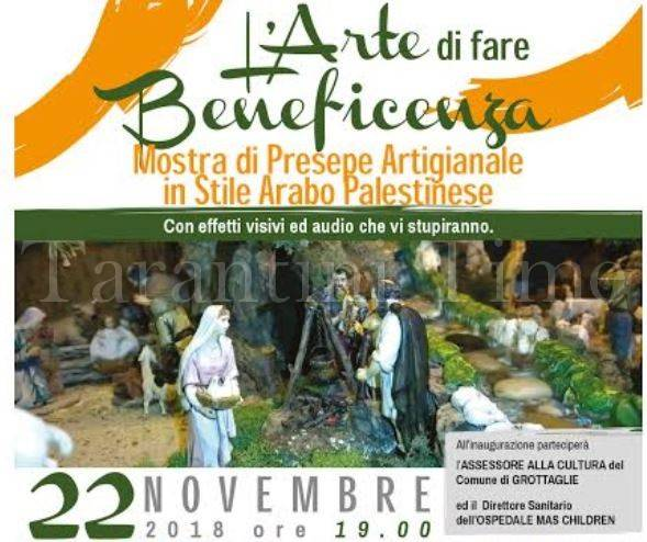 Grottaglie 2018 - arte e beneficenza