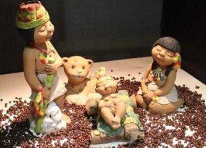 Presepe etnico milano
