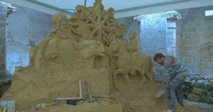 Presepi di sabbia a Scorrano