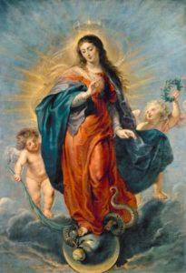 Immacolata Concezione di Rubens