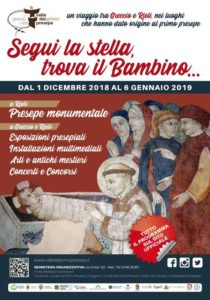 Manifesto - Valle primo presepe 2018