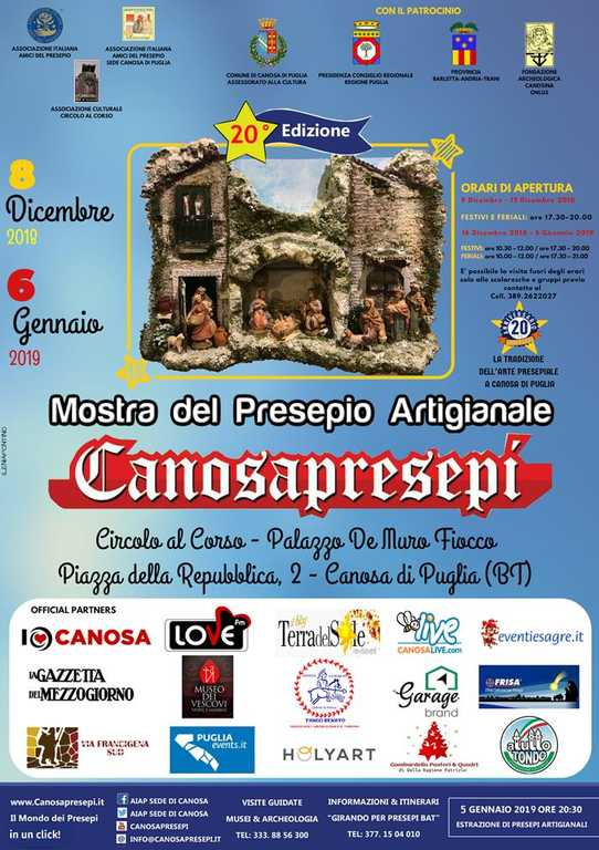 Mostra CanosaPresepi 2018