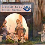 Acqui Terme - un presepio dedicato all'AIDO e alla donazione degli organi