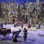 """Il presepio """"Sassi di Matera"""" di F. Artese al Quirinale"""