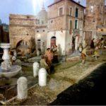 Presepio di Alberto Finizio - Roma '800 - Allestito a Rieti (Oratorio San Pietro Martire) Valle Primo Presepe 2 ed
