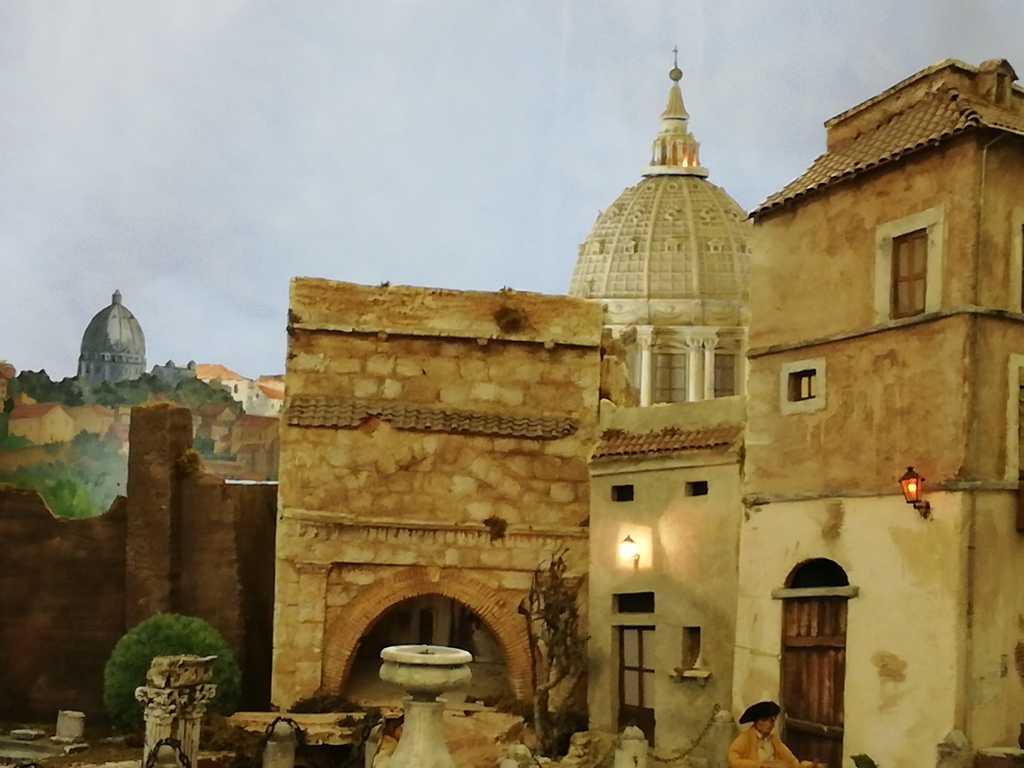 Presepio di Alberto Finizio - Roma '800 - Allestito a Rieti (Oratorio San Pietro Martire) Valle Primo Presepe