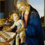 """Dipinto di Sandro Botticelli """"La Madonna del Libro"""""""
